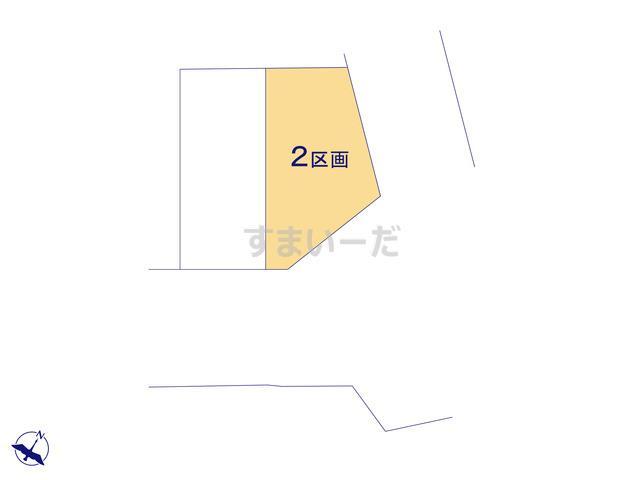 ハートフルタウン 大田区大森東10期-II期の見取り図