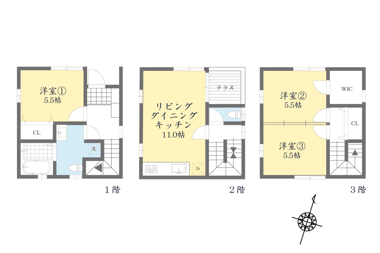 建物参考プラン1380万円