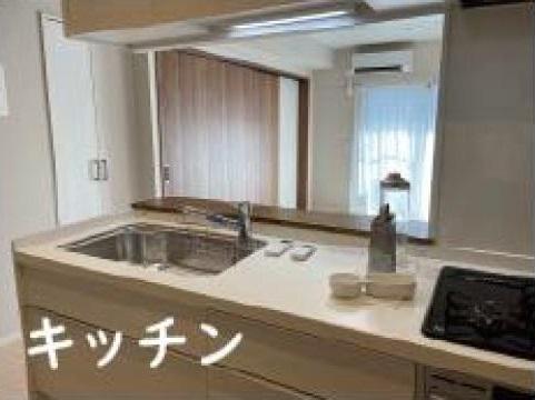 対面キッチンで明るいキッチンです!