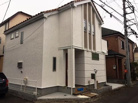 小平市天神町1丁目新築戸建 角地 洋瓦の家