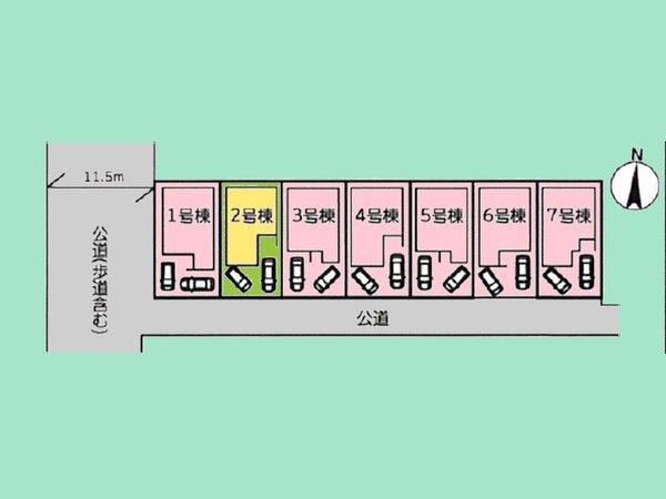 【区画図】(2020年10月19日撮影)