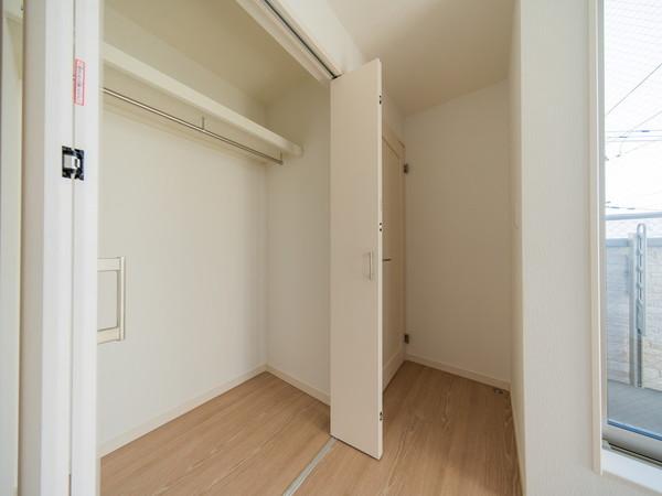 【収納】全居室収納スペース付でスッキリ片付きます