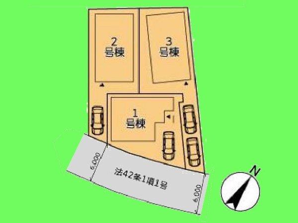 【区画図】カースペースございます!
