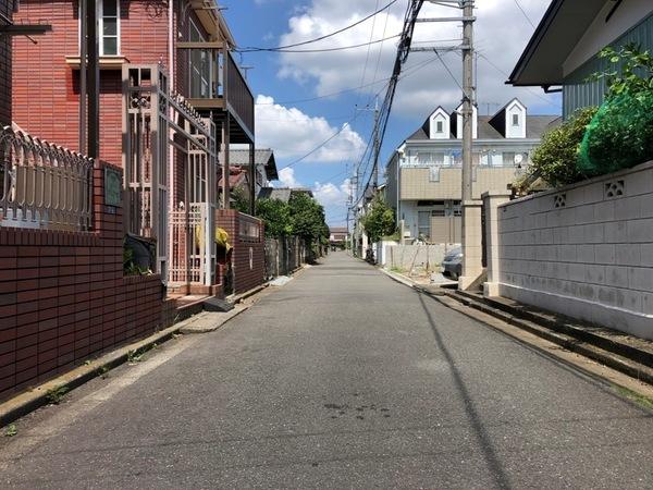 【前面道路含む現地写真】(2020年08月25日撮影)
