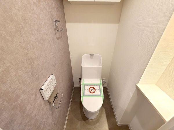【トイレ】清潔感のあるトイレです