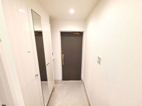【玄関】スッキリとした玄関スペース
