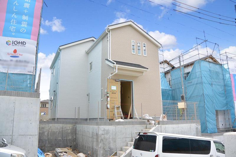飯島町新築3号棟、整形地、緑多い...