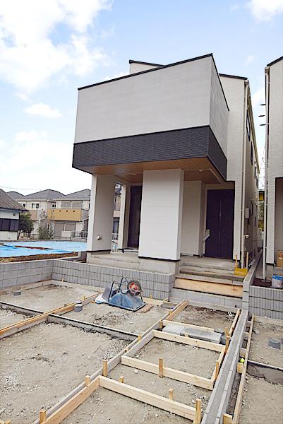 人気の戸塚エリアのデザイン住宅。