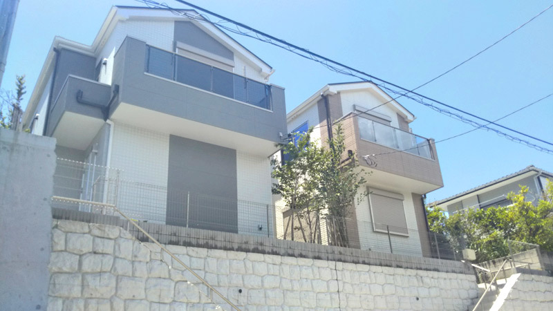 House environment to feel nature of Hayama