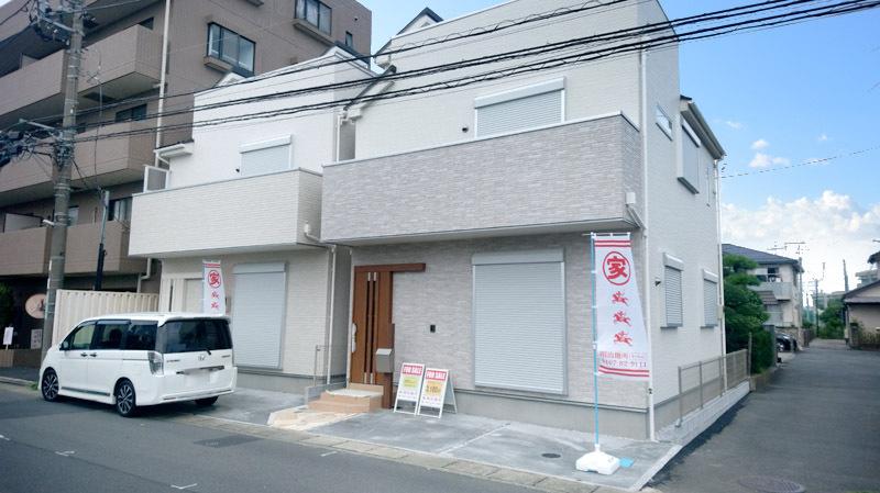 JR寒川駅徒歩5分!東南角地!屋...