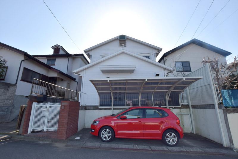 軽量鉄骨造の注文住宅!富士山を望...