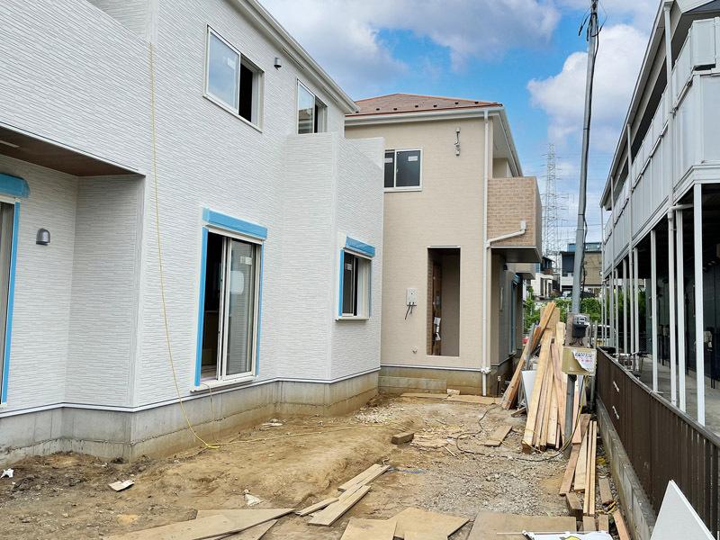 全5宅地新規開発分譲地!地震に強...