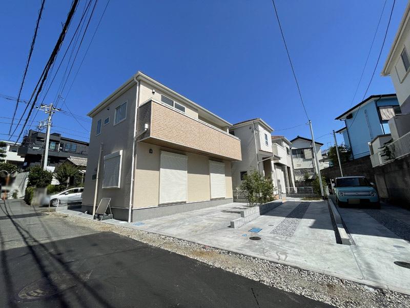 ◆茅ヶ崎市海側の新築物件◆南側隣...