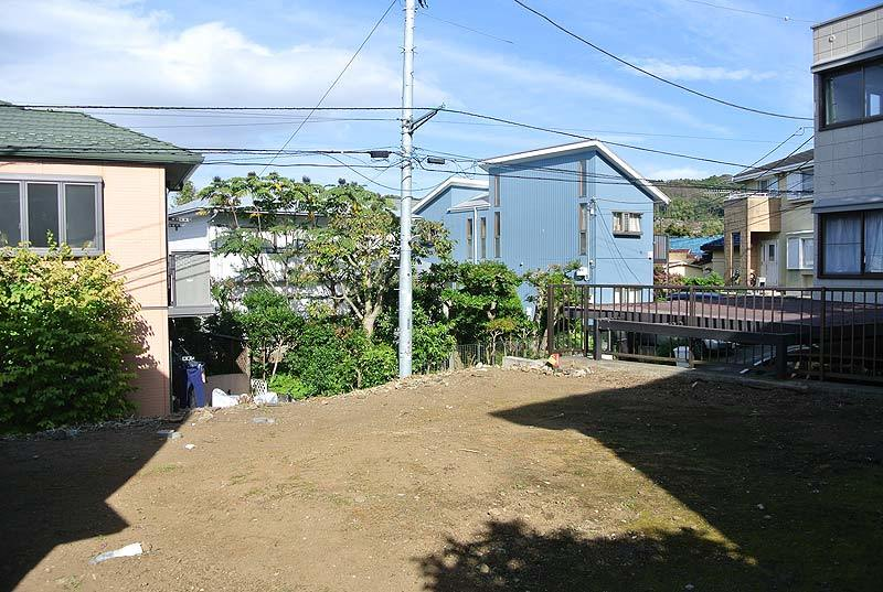 北鎌倉の閑静な住宅地