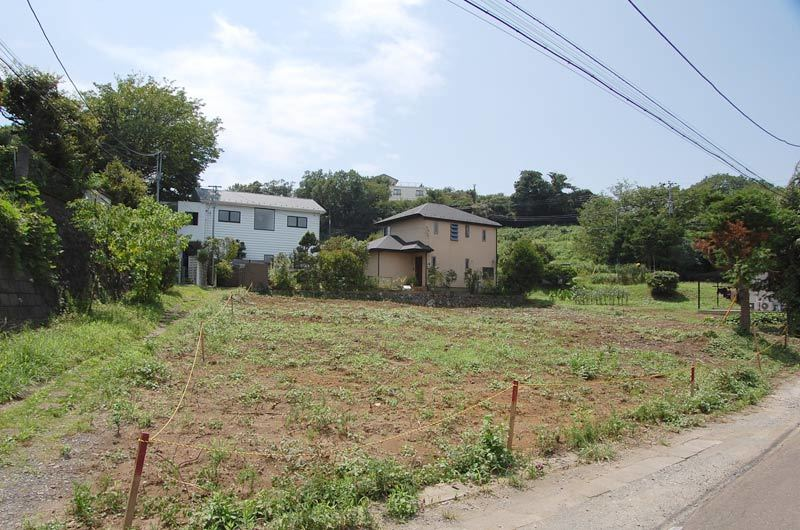 Extensive land which is full of green! In Kamakurayama...