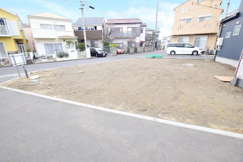 辻堂駅を海側に徒歩18分の整形地...