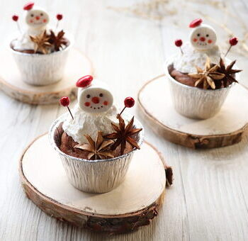 子どもも大人も楽しみにしているクリスマスシーズンが、いよいよ到来。 今回はクリスマスパーティのデザートにピッタリな雪だるまのショコラマフィンをご紹介します。