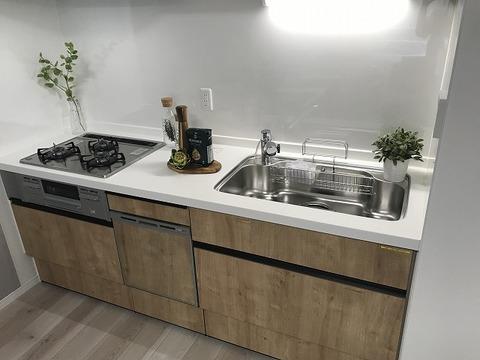 食洗機付キッチン