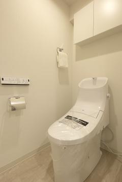 【トイレ】心休まる場所です。ウォシュレット付きです。