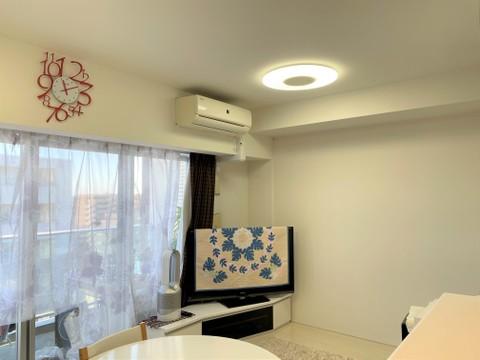 LDK13.2帖のリビング部分です。TES温水式床暖房も付いています。