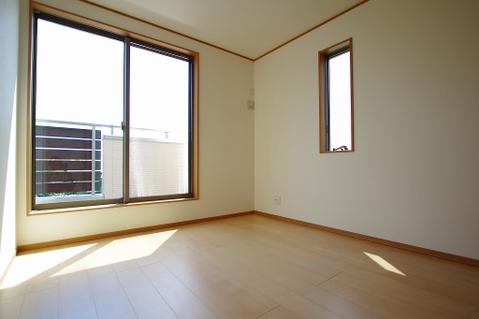 洋室4.5帖 隣の部屋と繋がります
