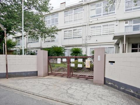 川崎市立住吉中学校 距離1280m