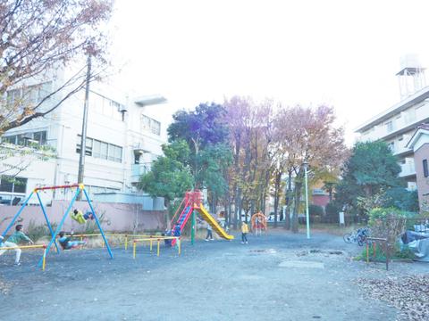 二子坂戸緑道(みどり公園) 距離45m