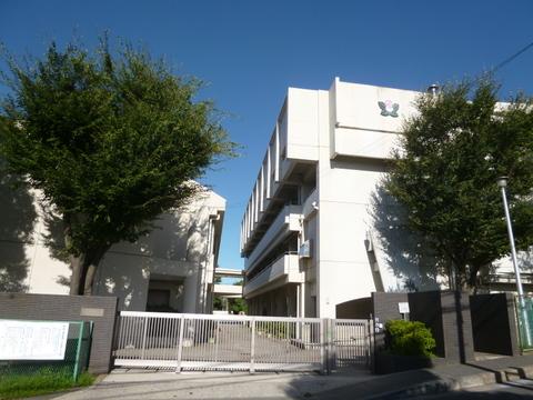 横浜市立下田小学校 距離500m
