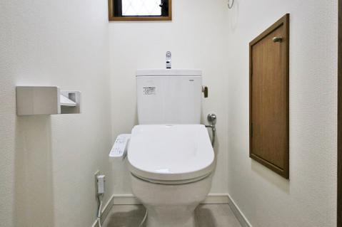 新規交換済の綺麗なトイレ