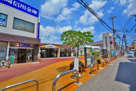 JR南武線「宿河原」駅 距離900m