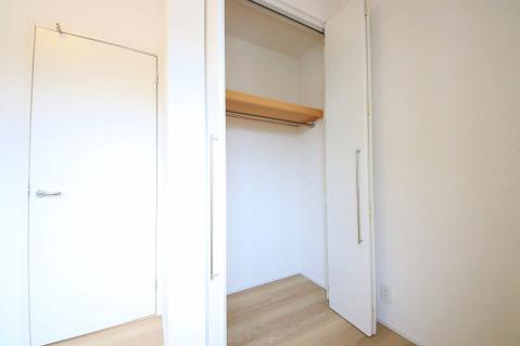 各居室収納完備。お荷物が多い方でも安心です