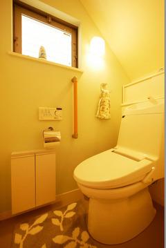 3階にもトイレがあります