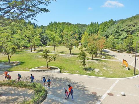 生田緑地 距離2500m