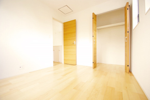 全居室に収納スペースを完備、荷物が多い方でも安心の収納力