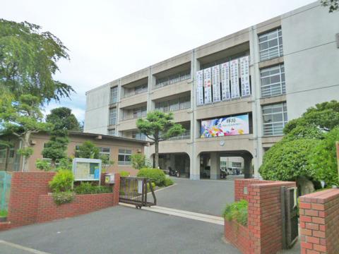 川崎市立野川中学校 距離750m