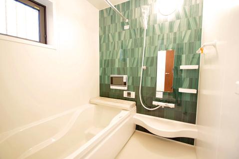 約1坪超えのバスルームは一日の疲れを癒す特別な空間に