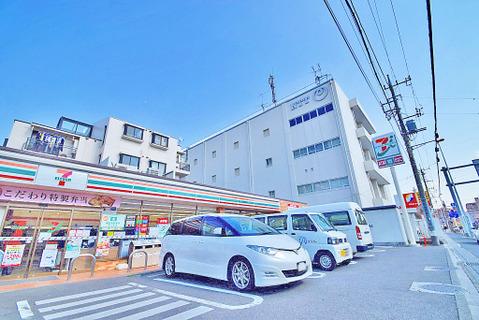 セブンイレブン 川崎子母口店 距離440m