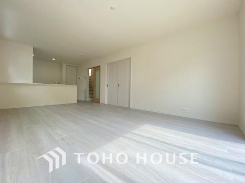 形の良いLDKで、収まりよく家具の配置もできます。