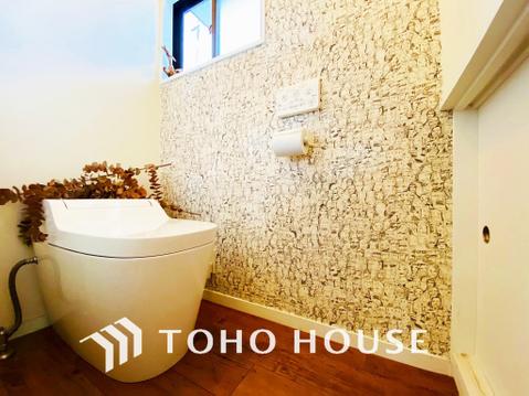 オシャレな壁紙は素敵なトイレ空間を演出します