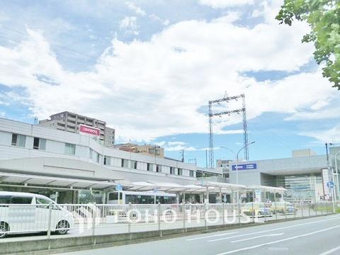 東急田園都市線・地下鉄ブルーライン「あざみ野」駅 距離640m