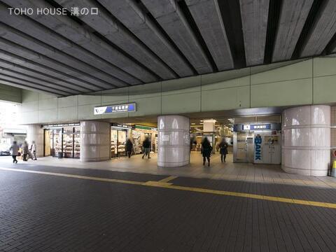 小田急電鉄小田原線「千歳船橋」駅 距離800m