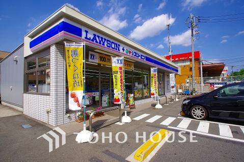 ローソン LAWSON+スリーエフ川崎北部市場店 距離800m