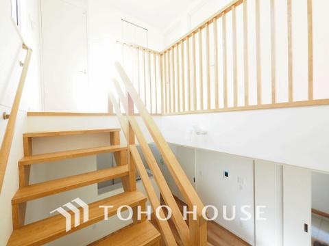 デザイン性のある階段