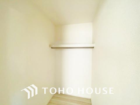 全居室に収納スペースを確保、ご家族分のお荷物をそれぞれ収納可能