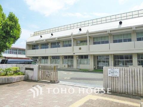 横浜市立緑が丘中学校 距離850m