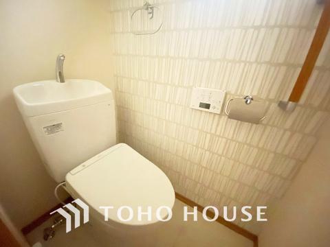 1階、2階、それぞれにお手洗いがあります
