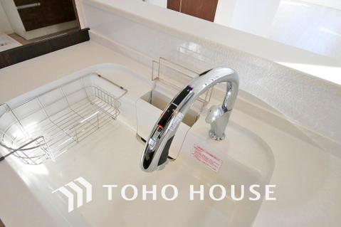 料理中にとても便利なタッチレス水栓