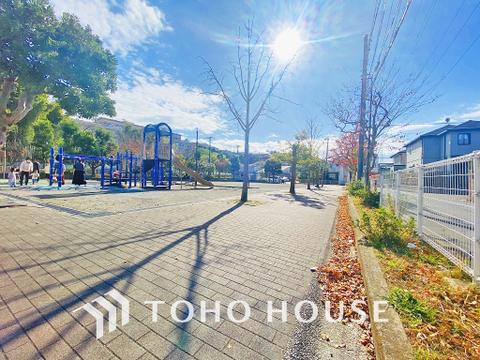 野川東公園 距離40m