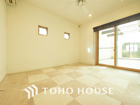 約7.5帖ほどの居室は、使い勝手が良く好みのデザインにできます