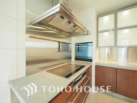 人気のL字キッチン。動線が短く使いやすいキッチンとなっています